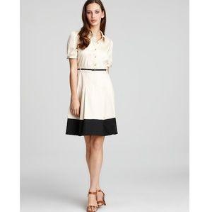Kate Spade Natural Jeanette Belted Shirt Dress